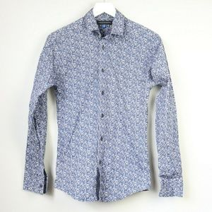 Vince Camuto Dotted Long Sleeve Button Down Shirt